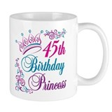 45th Birthday Princess Mug