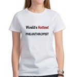 World's Hottest Philanthropist Women's T-Shirt