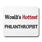 World's Hottest Philanthropist Mousepad
