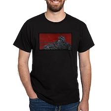 gas mask gunner T-Shirt