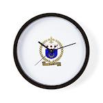 DAVID Family Crest Wall Clock