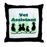 Unique Vet tech Throw Pillow