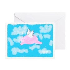 Flying Pig Greeting Cards (Pk of 10)