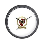 BLONDEL Family Crest Wall Clock