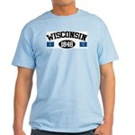 Wisconsin 1848 Light T-Shirt