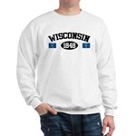 Wisconsin 1848 Sweatshirt