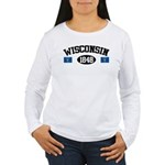 Wisconsin 1848 Women's Long Sleeve T-Shirt