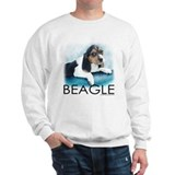 Blue Sky Beagle Sweatshirt