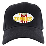 I heart Zombies Black Cap