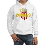 I heart Zombies Hooded Sweatshirt