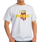 I heart Zombies Light T-Shirt