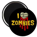 I heart Zombies Magnet