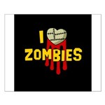 I heart Zombies Small Poster