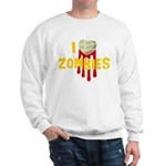 I heart Zombies Sweatshirt