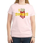 I heart Zombies Women's Light T-Shirt