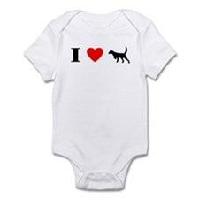 I Heart Llewellin Setter Infant Bodysuit