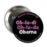 Beatles Fans for Obama Ob-La-Di OBAMA button