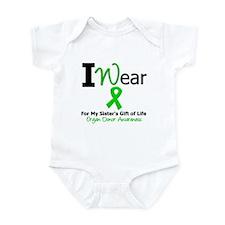 I Wear Green (Sister) Infant Bodysuit