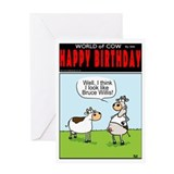 Yippee Ki-YAY HAPPY BIRTHDAY!Greeting Card