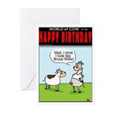 Yippee Ki-YAY HAPPY Bday!Greeting Cards (Pk of 10)