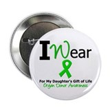 "I Wear Green (Daughter) 2.25"" Button"