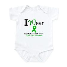 I Wear Green (Dad) Infant Bodysuit