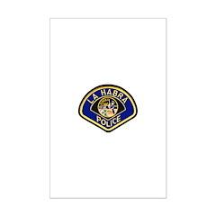 La Habra Police Posters