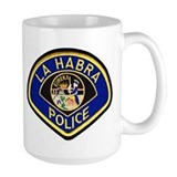 La Habra Police Mug