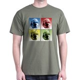 Curly Coat Pop Art T-Shirt