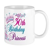 30th Birthday Princess Small Mug