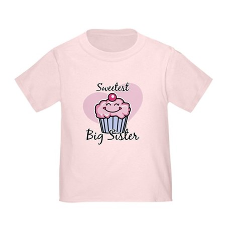 Sweetest Big Sister Toddler T-Shirt