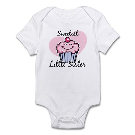 Sweetest Little Sister Infant Bodysuit