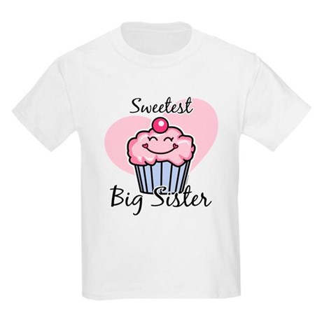 Sweetest Big Sister Kids Light T-Shirt