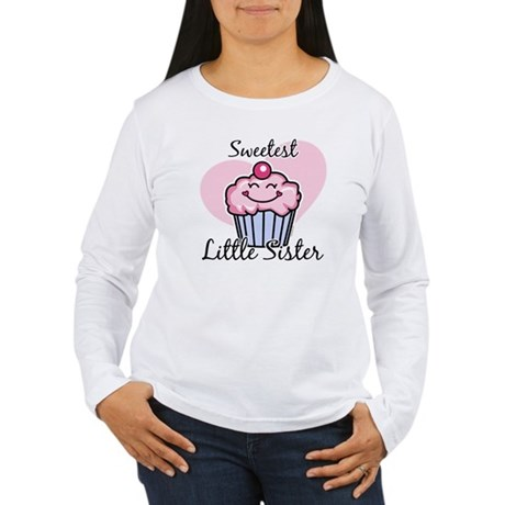 Sweetest Little Sister Women's Long Sleeve T-Shirt