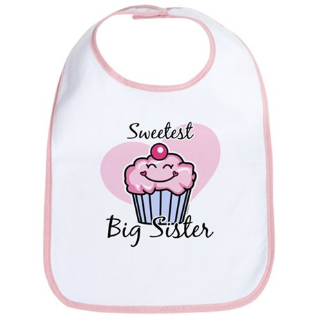 Sweetest Big Sister Bib