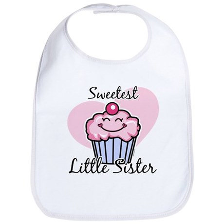 Sweetest Little Sister Bib