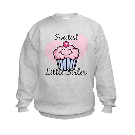 Sweetest Little Sister Kids Sweatshirt