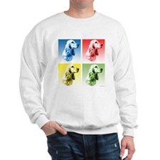 English Cocker Pop Art Sweatshirt