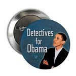 Detectives for Obama campaign button