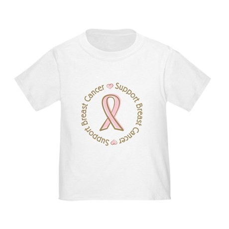 Support Breast Cancer Toddler T-Shirt