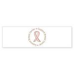 Support Breast Cancer Bumper Sticker (10 pk)