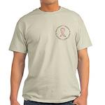 Breast Cancer Support Best Friend Light T-Shirt