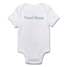 French Riviera (Teal) - Infant Creeper