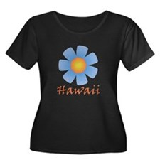 Hawaii (Blue Flower) T