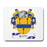 Barns Family Crest Mousepad