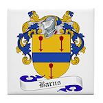 Barns Family Crest Tile Coaster