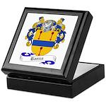 Barns Family Crest Keepsake Box