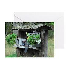 Rural Mailboxes Greeting Card