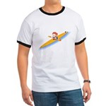 66 Lightning Boy Ringer T