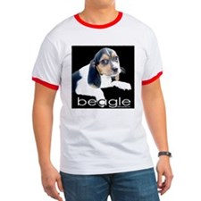 Tri-color Beagle T